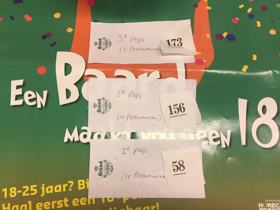 winnaars gratis polsbandjes