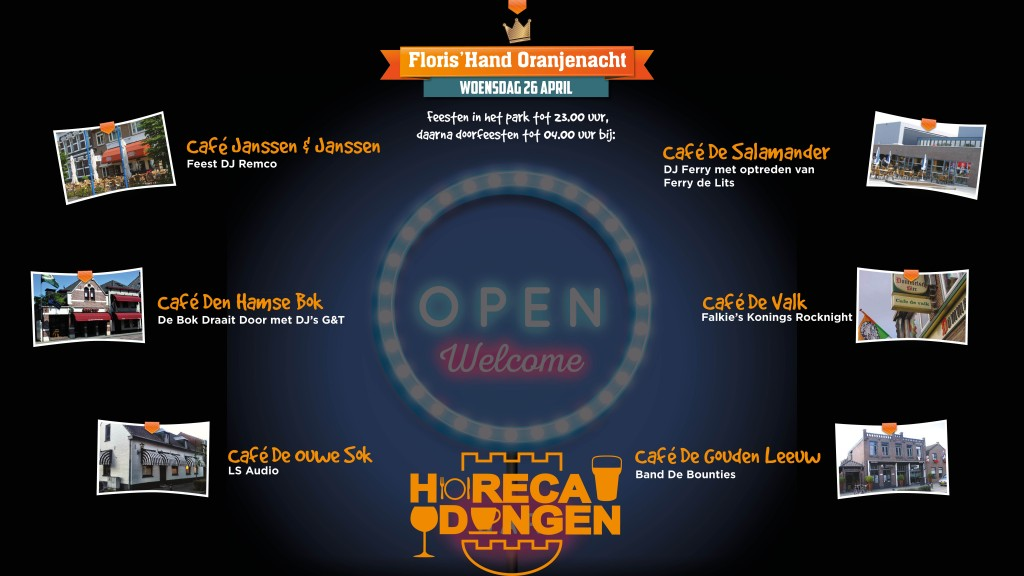 koningsnacht 2017 Horeca Dongen