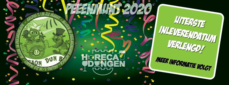 verlengde peeenmunt 2020